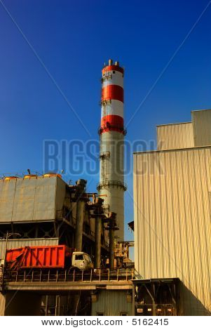 Refuse Incinerator Loading