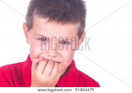 Nail Biting Child