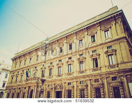 Retro Look City Hall, Milan