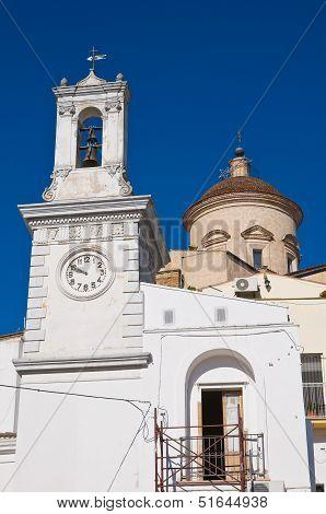 Clocktower. Pisticci. Basilicata. Italy.