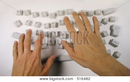 Messy Keyboard