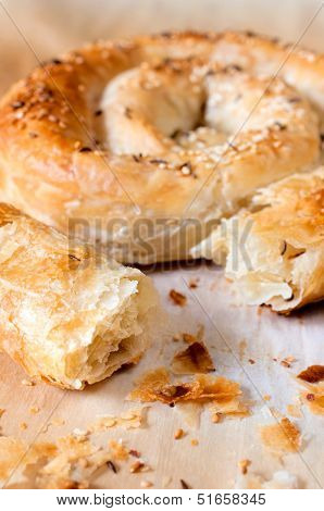 Serbian Traditional Pie