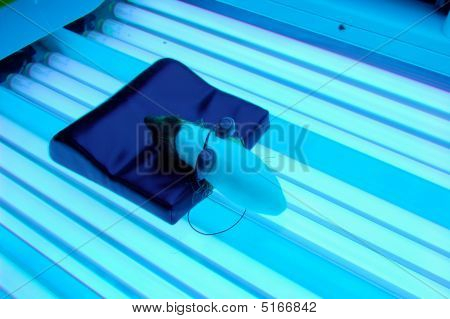 Tanning Bed Customer