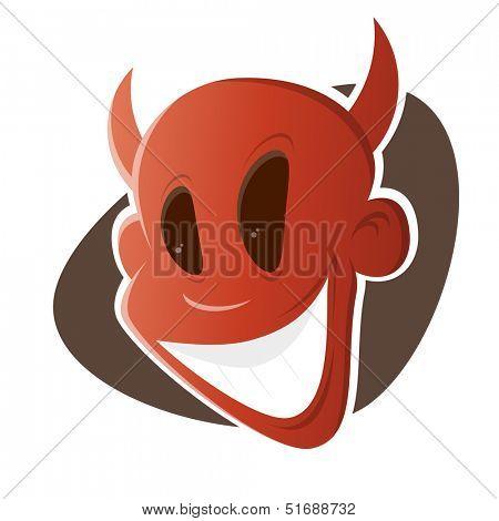 funny cartoon devil