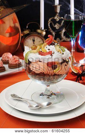 Delicate Dessert For Halloween