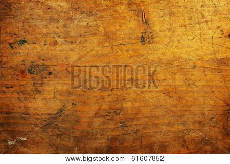 Old grungy wooden surface texture