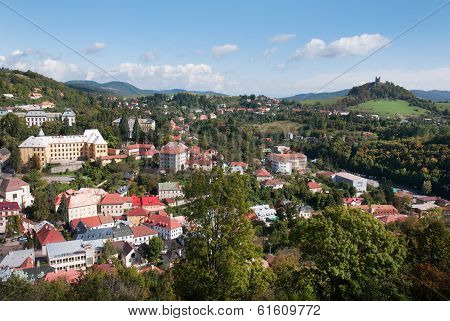 Banska Stiavnica Town - Historical Center With Calvary Hill