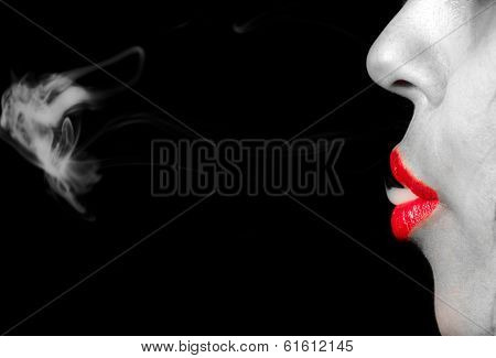 Smoke From The Mouth