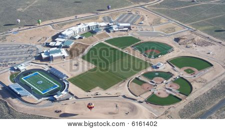 Cleveland High School  From Above