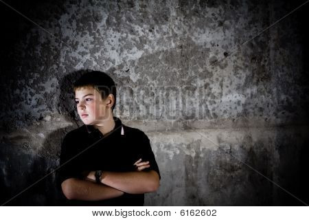 Young Teenage Boy Portrait