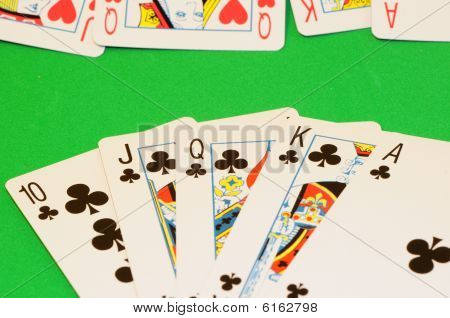 Playing Cards - Royal Flush