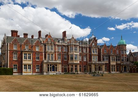 Sandringham House Is A Country House On 20,000 Acres Of Land Near The Villa