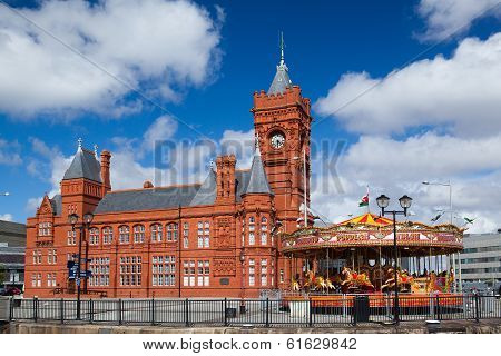 Cardiff Bay Development And Pier Head Building