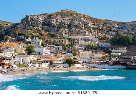 Matala. Crete, Greece