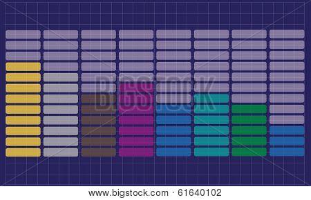 vector equalizer background
