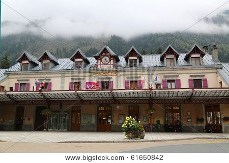 Chamonix Mont Blanc Train Station