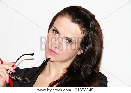 Beautiful young bussines woman