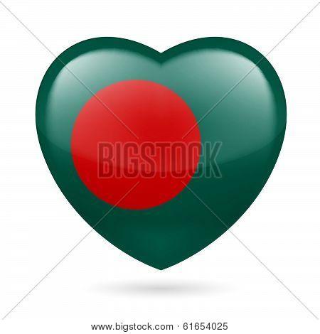 Heart icon of Bangladesh