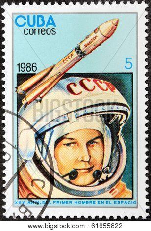 Tereshkova Stamp