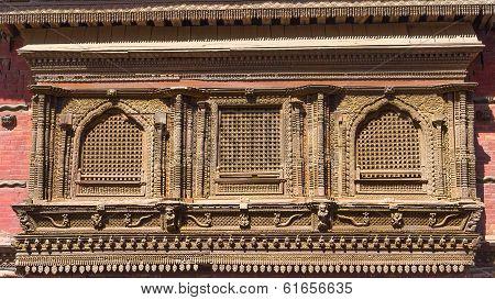 Newar Architecure Windows - Kathmandu