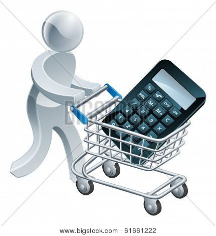 Shopping Cart Calculator Person