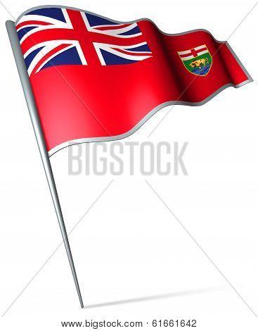 Flag Of Manitoba (canada)
