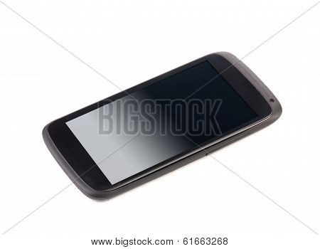 Cell phone with clipping path.