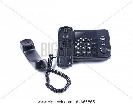 One landline phone.