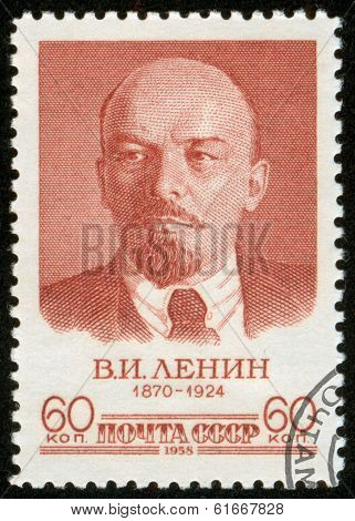 Stamp With Lenin, Macro