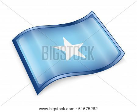 Somali Flag Icon.