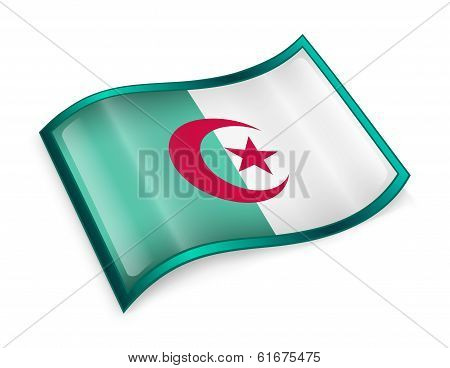 Algeria Flag Icon.