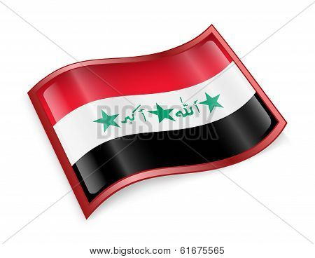 Iraq Flag Icon.