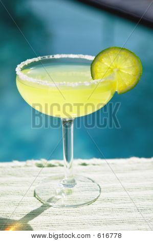 Margarita By The Pool