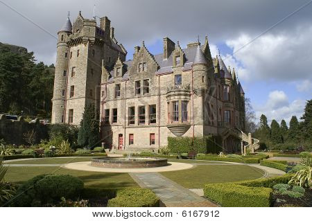 Picture Of Belfast Castle In Northern Ireland.