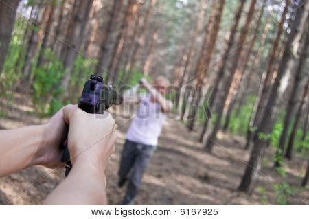 Kill Of Man In Forest