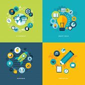 picture of education  - Icons for online learning - JPG