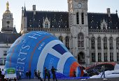 SINT-NIKLAAS,BELGIUM -SEPTEMBER 7,2013 : Balloon festival