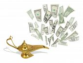 pic of aladdin  - Money fly out of Aladdin - JPG
