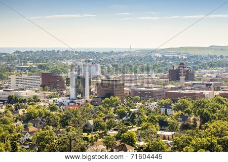 Landscape Of Rapid City, South Dakota.