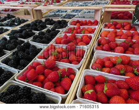 Berries for Sale