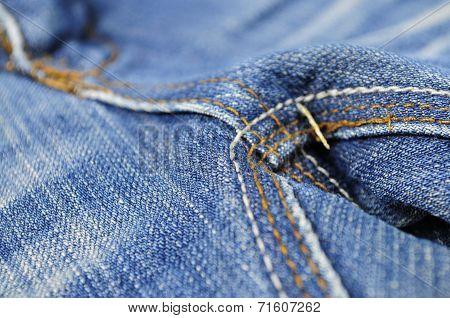 Jeans pants close-up