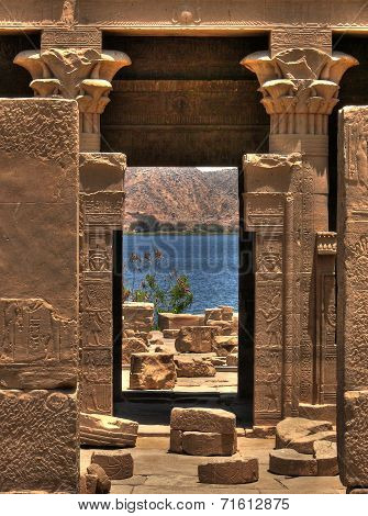 Hathor Temple On Agilkia Island