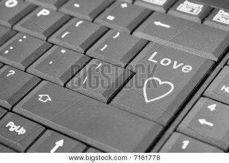 Love Computer Key