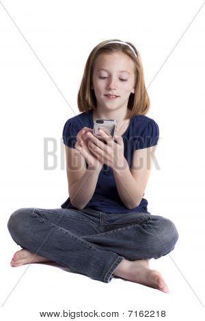 texting girl