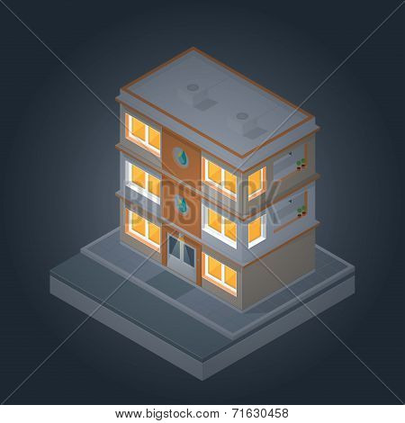Isometric Buildings Set 2