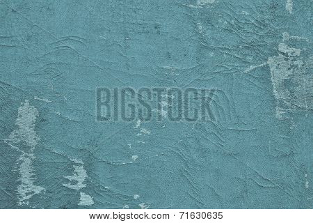 Texture Shabby Surface Of Leather Blue Color