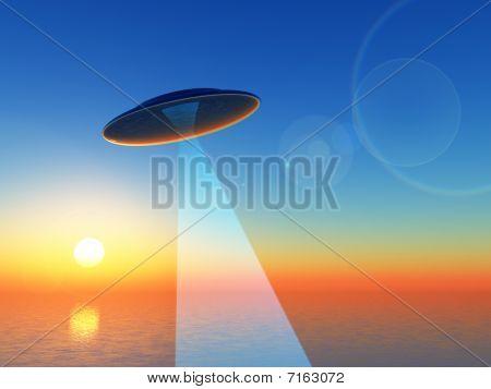 Sunrise UFO