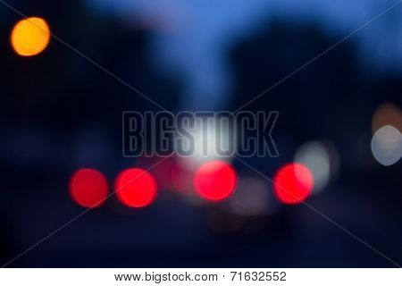 Gloomy Red Lights Background