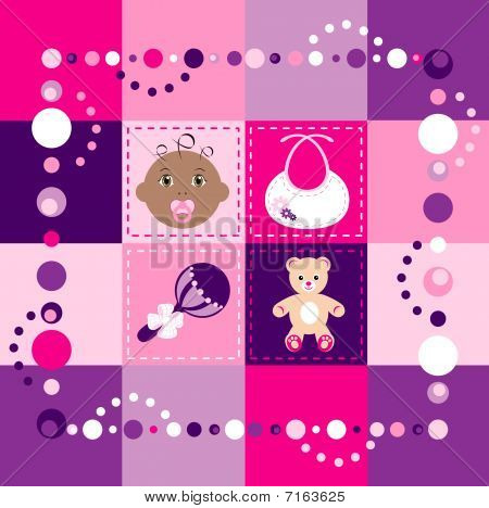 Baby Girl Quilt