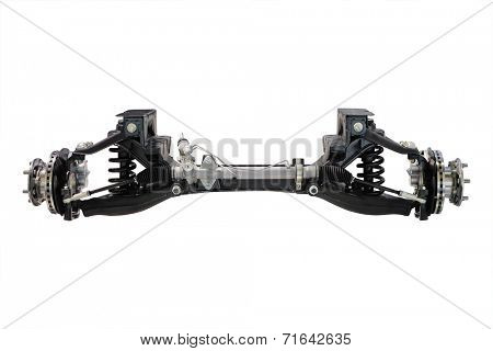 the image of a front axle